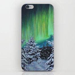 Northern Lights, Algonquin Park iPhone Skin