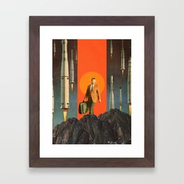 The Departure Framed Art Print