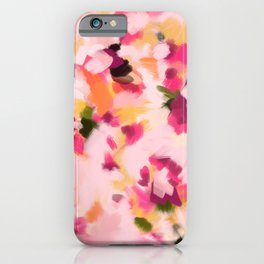 Abstract Floral Petals iPhone Case