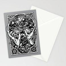 cat's cradle - vonnegut Stationery Cards