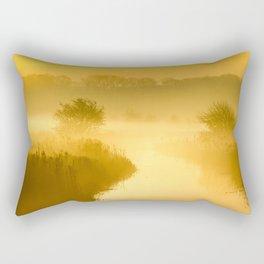 Mist of Gold Rectangular Pillow