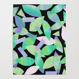 Leaf Litter (dark) Poster