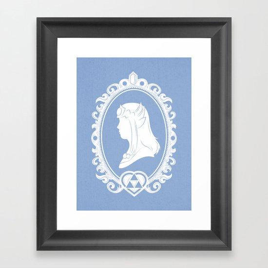 The Princess Framed Art Print