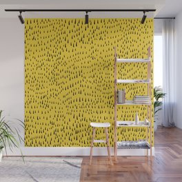 Trees in Yellow Wall Mural