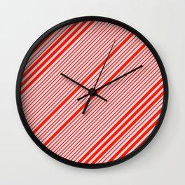 Lovely Stripes Wall Clock