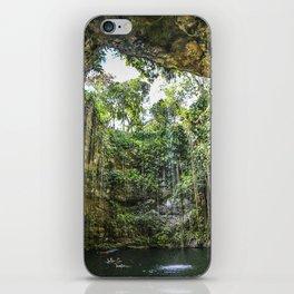 Cenote, Mexico iPhone Skin