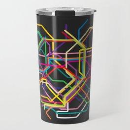tokyo metro map Travel Mug