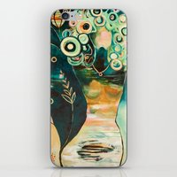 """flora bowley iPhone & iPod Skins featuring """"Thirty Six"""" Original Painting by Flora Bowley by Flora Bowley"""