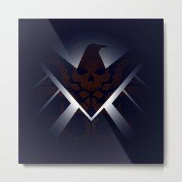 Hidden HYDRA – S.H.I.E.L.D. Logo Sans Wording Metal Print