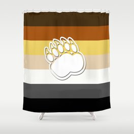 Gay Bear Shower Curtain