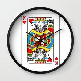 King (playing card)  Wall Clock