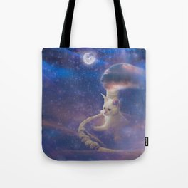 Off and Away Tote Bag