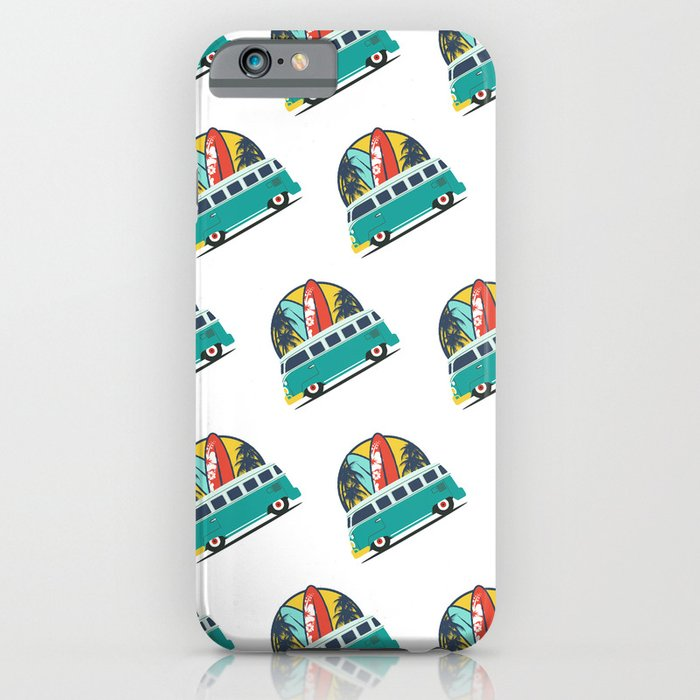 Surf Lover iPhone Case