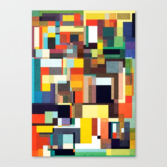 The City I Live In Canvas Print
