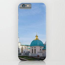Moscow Russia New Jerusalem Monastery Istra Temples Cities temple iPhone Case