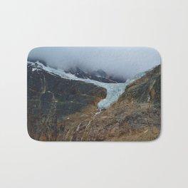 Angel Glacier on Mt. Edith Cavell in Jasper National Park, Canada Bath Mat