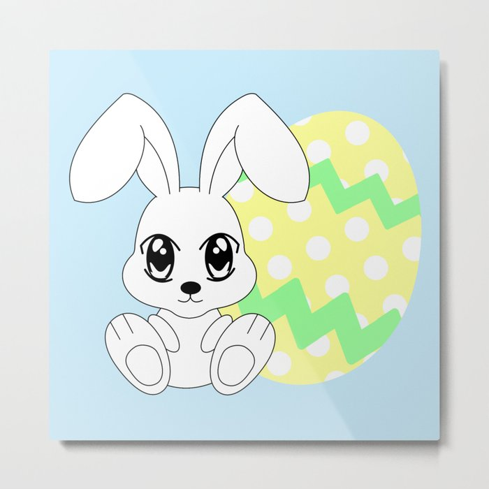 The Easter bunny Metal Print