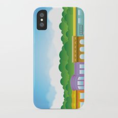 Brooklyn Brownstones Slim Case iPhone X