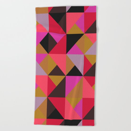 colour + pattern 19 Beach Towel