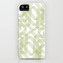 Green Circle iPhone Case
