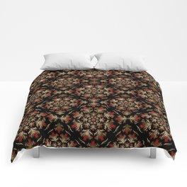 Turkish tulip - Ottoman tile pattern 15 Comforters