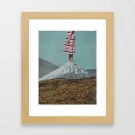 Meadow Mountain Framed Art Print