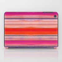 stripes iPad Cases featuring stripes by spinL