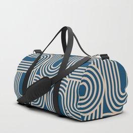 Abstraction_WAVE_GRAPHIC_VISUAL_ART_Minimalism_001 Duffle Bag