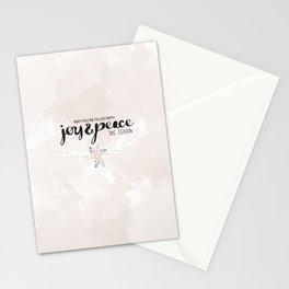 Joy & Peace Stationery Cards