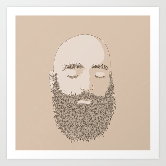 NATURE PORTRAITS 08 SIMPLIFIED Art Print