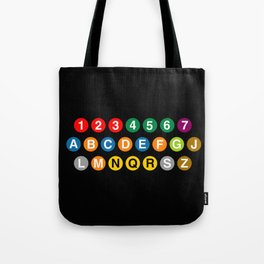 NYC Subway! Tote Bag