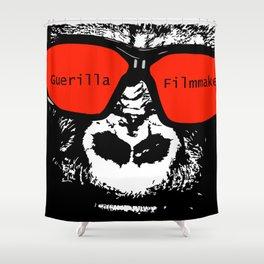 Guerilla Filmmaker Shower Curtain