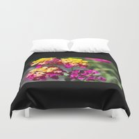 ombre Duvet Covers featuring Ombre by Darkest Devotion