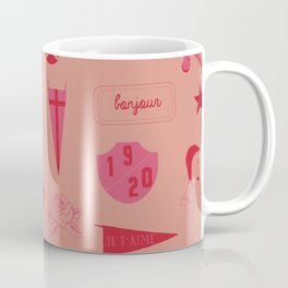 Patches - Pink + Red Coffee Mug