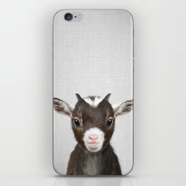 Baby Goat - Colorful iPhone Skin