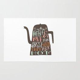 COFFE & LOVE Rug