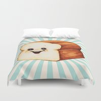 bread Duvet Covers featuring Bread by Kelly Gilleran