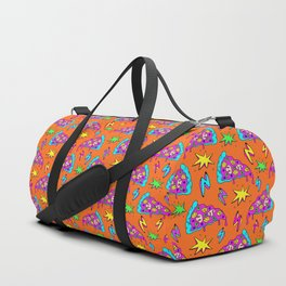 Crazy space alien pizza attack! #2 Duffle Bag