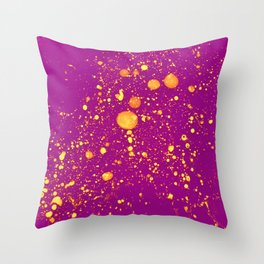 Violet Adagio Throw Pillow