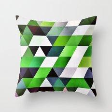 lyzzyrrd Throw Pillow