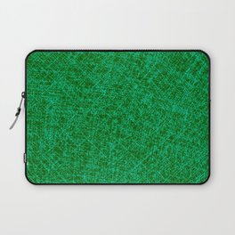 Scratched Green Laptop Sleeve
