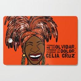 La Reina Celia Cruz Cutting Board