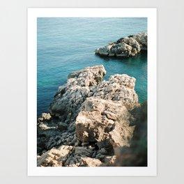 Ibiza Coastline - Balearics - Travel Photography Art Print