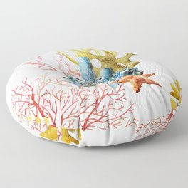 Sea Life Pattern 11 Floor Pillow