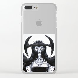The Scarab Queen Clear iPhone Case