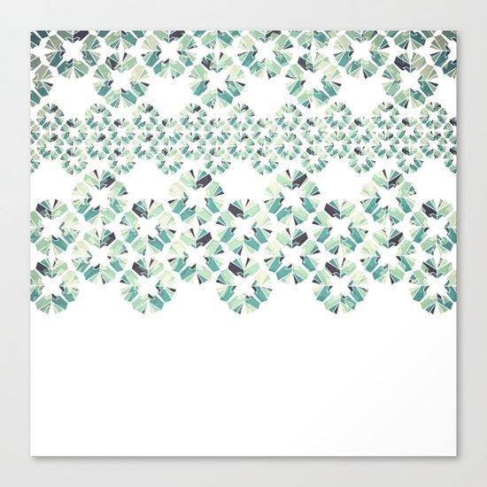 Glass Lace Canvas Print