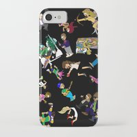 cartoons iPhone & iPod Cases featuring 2014 Cartoons 1 by Reid