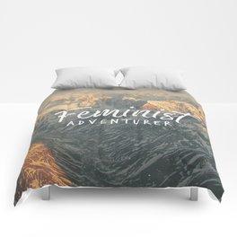 Feminist Adventurer Comforters