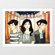 Gypsy Children Art Print