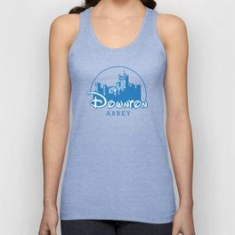 The Wonderful World of Downton Abbey Unisex Tank Top